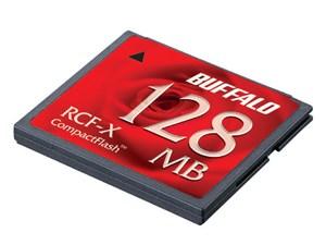 バッファロー コンパクトフラッシュ 128MB RCF-X128MY