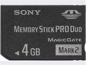 Sony MemoryStick Pro Duo 4GB / MS-MT4G