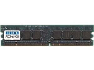 I-O DATA製メモリ DX800-2G DDR2 2GB PC6400 CL5