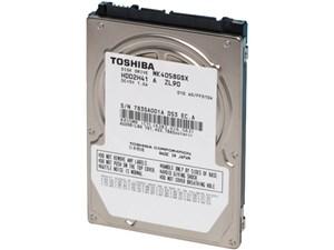 TOSHIBA(東芝) ノート用HDD 2.5inch MK4058GSX 400GB 9.5mm