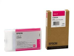 EPSON インクカートリッジ ICM40A マゼンタ