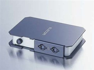 エレコム コンパクトパソコン自動切替器 KVM-C22
