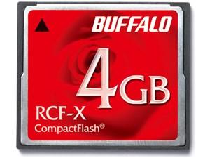 バッファロー コンパクトフラッシュ 4GB RCF-X4G