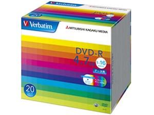 Verbatim DHR47JP20V1 (DVD-R 16倍速 20枚組)