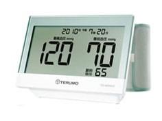 テルモ【TERUMO】血圧計 上腕式 6.5型大画面 ACアダプタ付き ES-W500ZZ★【E・・・
