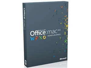 Office for Mac Home and Business 2011 2パック