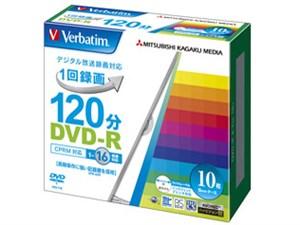 Verbatim VHR12JP10V1 [DVD-R 16倍速 10枚組]