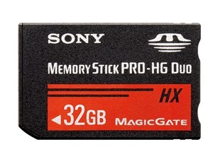 Sony MemoryStickPRO-HGDuo MS-HX32B