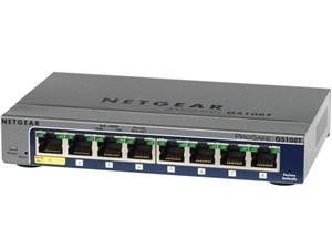 ネットギア NETGEAR レイヤー2スマートスイッチ ギガビット8ポート GS108T-20・・・