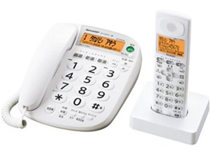 SHARP コードレス電話機(子機1機) JD-V35CL