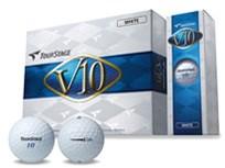 ブリヂストン ツアーステージV10(2012) ゴルフボール 12個入り ホワイ・・・
