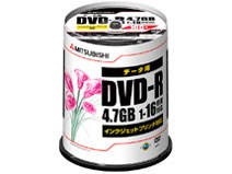DHR47JPP100 [DVD-R 16倍速 100枚組]