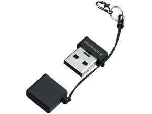 グリーンハウス【GREENHOUSE】microSD用超小型USBカードリーダ・ライタ ブラ・・・