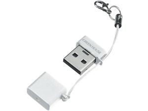 グリーンハウス【GREENHOUSE】microSD用超小型USBカードリーダ・ライタ ホワ・・・