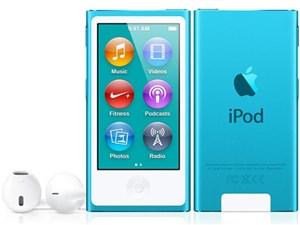 Apple 第7世代 iPod nano MD477J/A ブルー/16GB