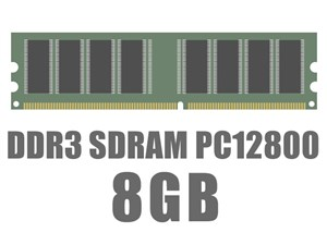 DIMM DDR3 SDRAM PC3-12800 8GB バルク