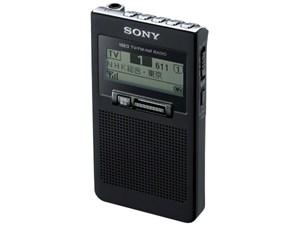 [新品][送料無料] ソニー ラジオ XDR-63TV B ブラック ワンセグTV音声/FMステ・・・