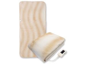 sugiyama 電気毛布 電気ボアしき毛布 ロングサイズ(水洗い可)ベージュ NA-0・・・