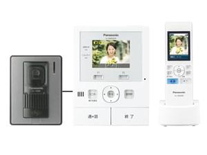 パナソニック テレビドアホン VL-SWD210K ワイヤレス モニター付 電源コード・・・