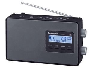 [新品][送料無料] パナソニック ラジオ RF-U100TV -K ブラック ワンセグTV音・・・