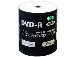 HIDISC DR47JNP100_BULK [DVD-R 16倍速 100枚組]