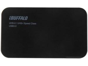 BUFFALO UHS-II対応 高速カードリーダー/ライター USB3.0 TurboPC EXモデル ・・・