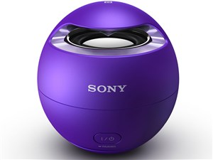 SONY ワイヤレスポータブルスピーカー Bluetooth対応 防水仕様 バイオレット ・・・