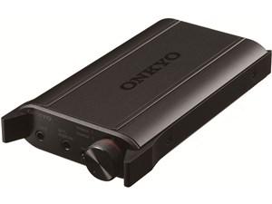 ONKYO オンキヨー ポータブルヘッドホンアンプ ハイレゾ対応 ブラック DAC-HA・・・