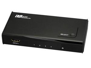ラトックシステム 高速切替4入力1出力HDMIセレクター REX-HDSW41