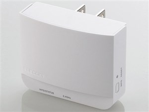 ELECOM WTC-300HWH 11bgn300Mbps無線LAN中継器/WTC-300Hシリーズ/ホワ・・・