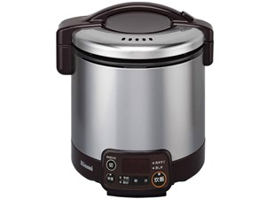 リンナイ ガス炊飯器 タイマー付 こがまる ダークブラウン 5合炊き 都市・・・