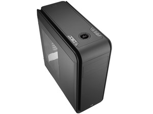 AeroCool製 エアロクール PCケース DS 200 Window Black ブラック