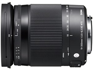 18-300mm F3.5-6.3 DC MACRO OS HSM [キヤノン用]
