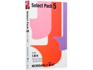 MORISAWA Font Select Pack 5 PC用 M019452