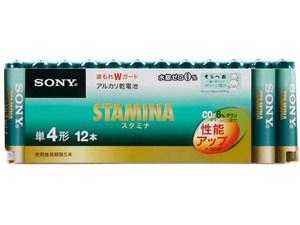 ソニーマーケティング ソニー アルカリ乾電池 スタミナ 単4形12本パック LR03・・・