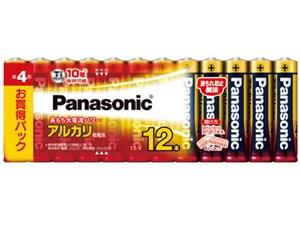 アルカリ乾電池 単4形 12本パック LR03XJ/12SW