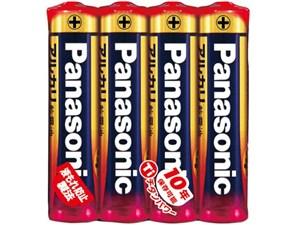 【パナソニック】アルカリ乾電池単四形4本入り【シュリンク包装】 LR03X・・・
