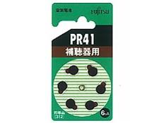 FDK 富士通 補聴器用空気電池 PR41(6B)