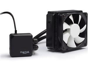 Fractal Design 水冷一体型CPUクーラー Kelvin T12 FD-WCU-KELVIN-T12-BK