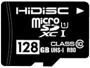 HDMCSDX128GCL10UI ◆ネコポス便配送制限 5枚まで◆ 商品画像1:秋葉Direct