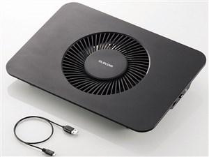 ELECOM SX-CL21LBK ブラック [ノートPC用クーラー(静音・強冷タイプ)・・・