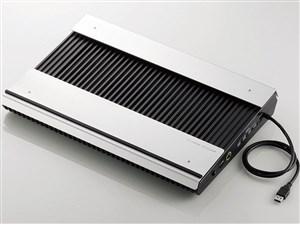 ELECOM SX-CL24LBK ブラック [USB3.0ハブ付きノートPC用クーラー(高耐久性×・・・