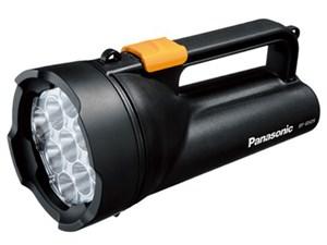 乾電池エボルタ付きワイドパワーLED強力ライト BF-BS05K-K [黒]