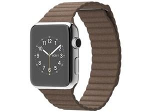 Apple Watch 42mm Lサイズ MJ422J/A [ライトブラウンレザーループ] 商品画像1:SMART1-SHOP