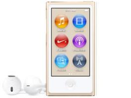 APPLE iPod nano MKMX2J/A [16GB ゴールド]