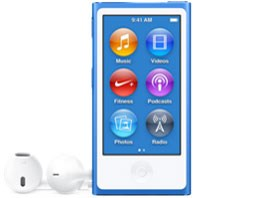 iPod nano MKN02J/A [16GB ブルー]