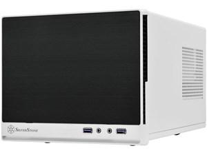 SilverStone SST-SG13WB-Q [ブラック&ホワイトアルミ調プラスチックフロント・・・