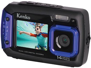 ケンコー Kenko 防水デュアルモニターデジタルカメラ IPX8相当防水 1.5m耐落・・・