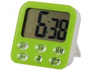 オーム電機 時計付き大画面 デジタルタイマー グリーン COK-T140-G 1コ入 497・・・