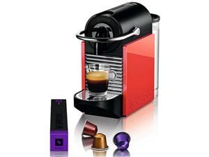 Nespresso PIXIE CLIPS D60-WR [ホワイト&コーラルレッド]